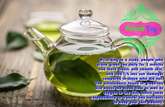 foods-good-for-skin-green-tea
