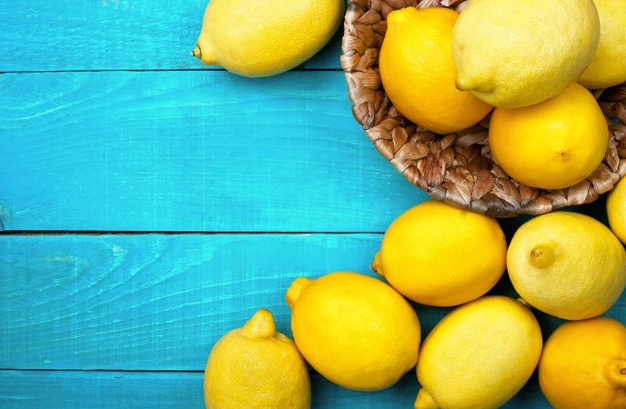 foods good for skin-lemon