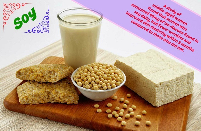 foods-good-for-skin-soy