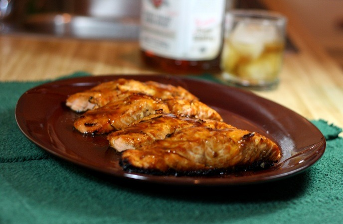 Best Healthy Fish Recipes – Bourbon – Glazed Salmon