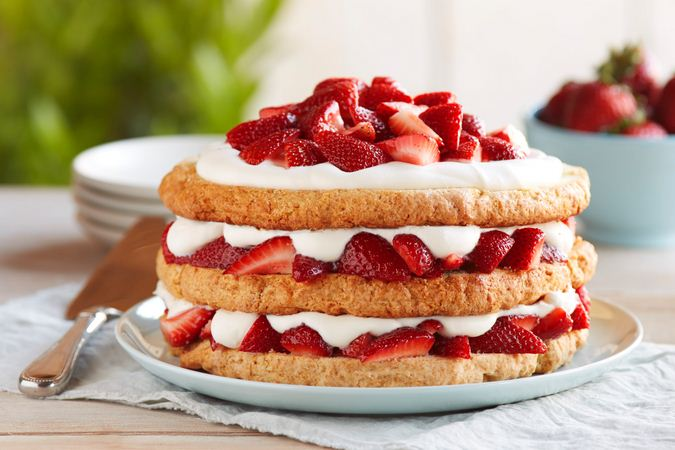 strawberry dessert recipes-strawberry shortcakes