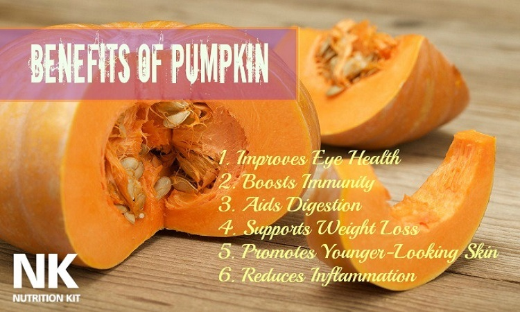benefits of pumpkin