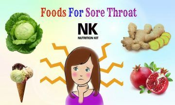 foods for sore throat