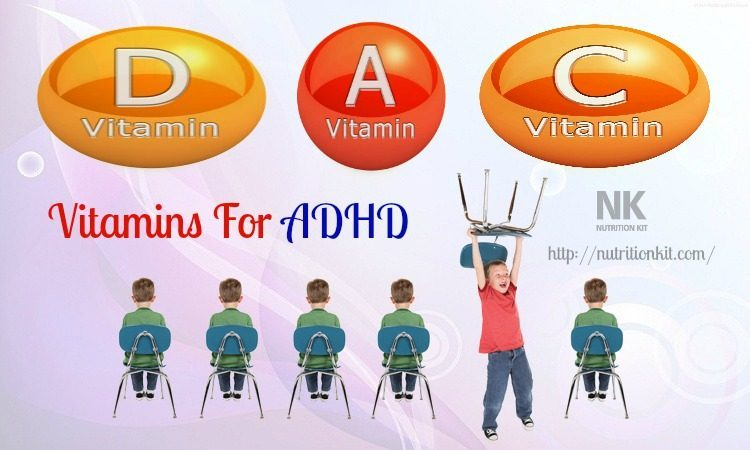 vitamins for adhd